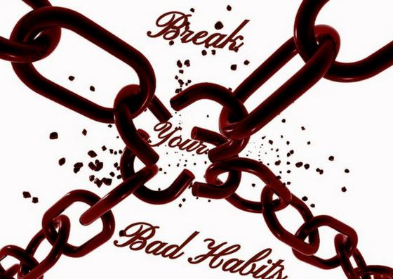 break bad habits