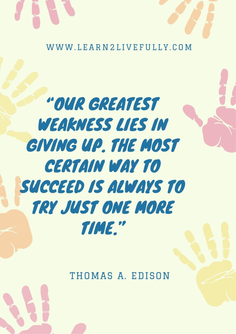 inspirational quotes by edison