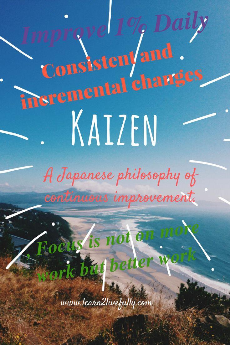 improve yourself the kaizen way