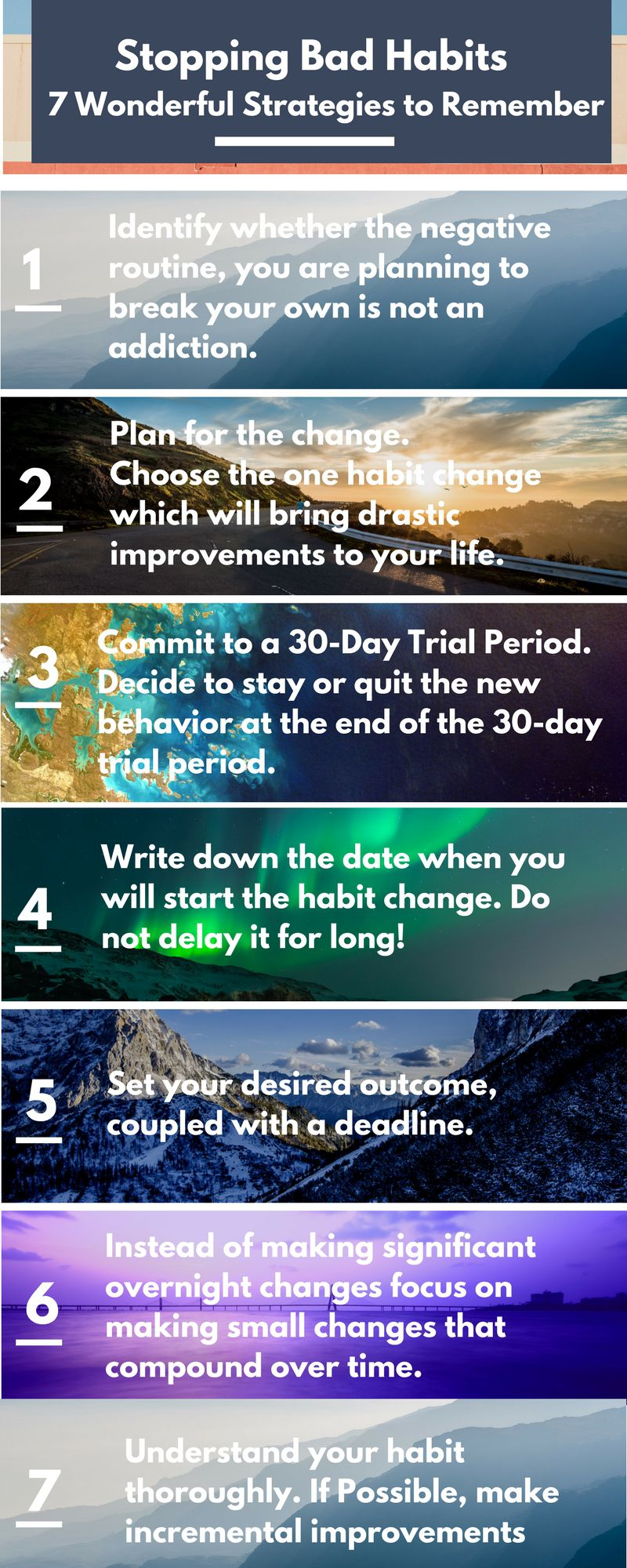 Stopping Bad Habits