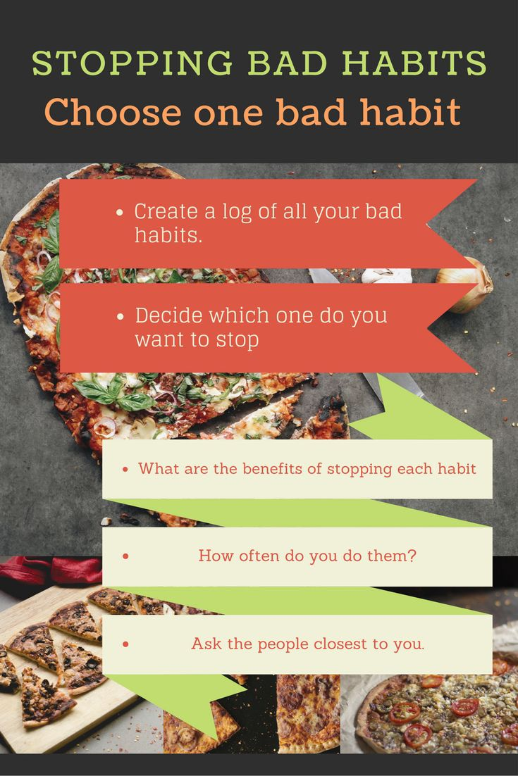 Stopping Bad Habits